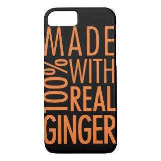100% Real Ginger iPhone 7 Case