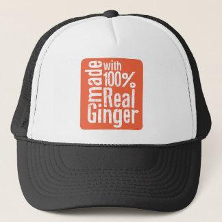 100% Real Ginger Trucker Hat