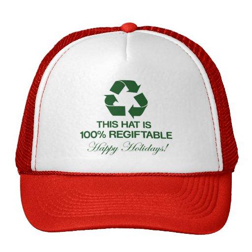 100% Regiftable Hat