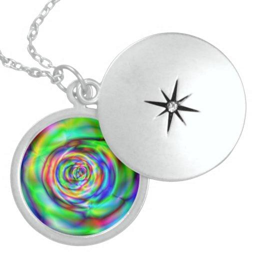 100% Round Sterling Silver Necklace/Locket