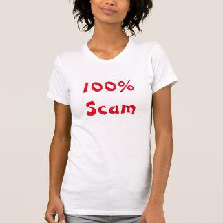 100% scam tshirt