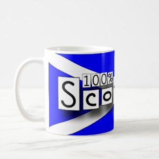 100% Scottish Coffee Mug