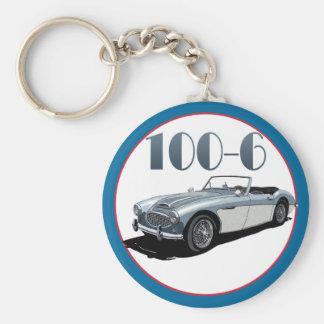 100-SIX BASIC ROUND BUTTON KEY RING