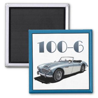 100-SIX SQUARE MAGNET