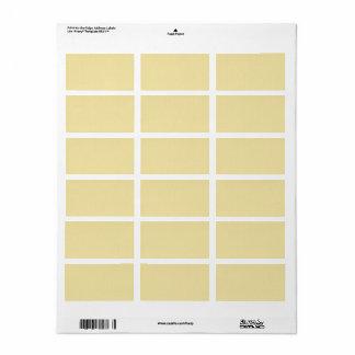 100 Slim : Artistic Soft Colors Patterns Label