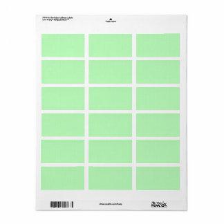 100 Slim : Artistic Soft Colours Patterns Label