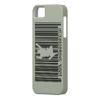 100% SNOWBOARDER 2 black barcode iPhone 5 Cover