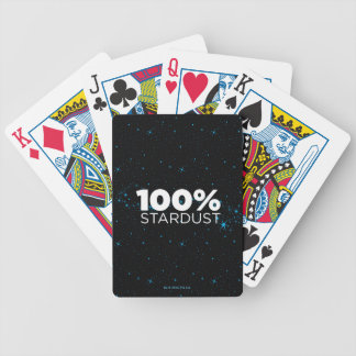 100% Stardust Bicycle Playing Cards