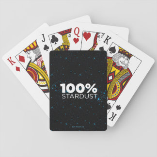 100% Stardust Playing Cards