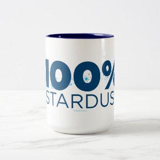 100% Stardust Two-Tone Coffee Mug