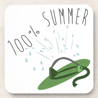 100% Summer Drink Coasters