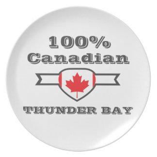 100% Thunder Bay Plate