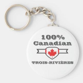 100% Trois-Rivières Key Ring