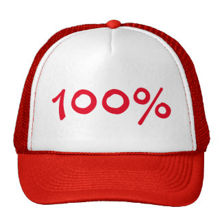 100% Trucker Hat