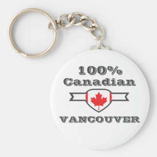 100% Vancouver Key Ring