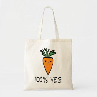 100% veg, bag