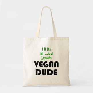 100% VEGAN DUDE TOTE BAG
