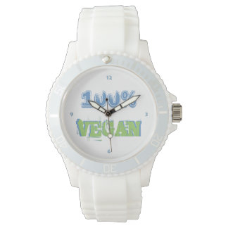 100% VEGAN -. - Wrist-watch -. - Watch