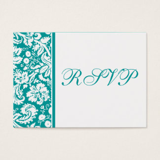 100 Wedding RSVP Cards, Select Background Color