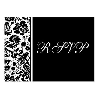100 Wedding RSVP Cards Select Background Color Business Card