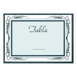 Wedding table number business cards 3 000 wedding table for Table number design template