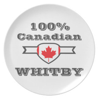 100% Whitby Plate