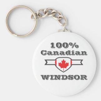 100% Windsor Key Ring