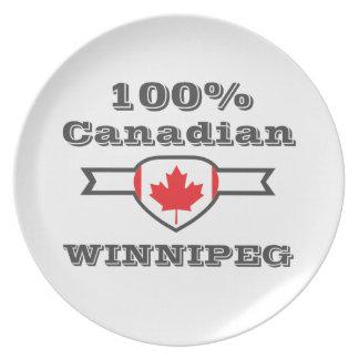 100% Winnipeg Dinner Plates