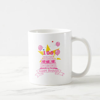 100 Year Old Birthday Cake Coffee Mug