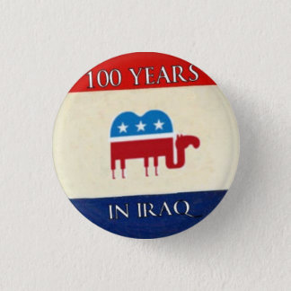 100 Years in Iraq Button
