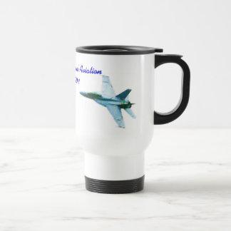 100 years of Naval Aviation Bearcat-Hornet Stainless Steel Travel Mug
