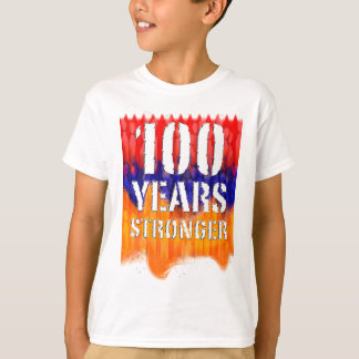 100 Years Stronger Armenian Kids T-shirt