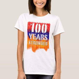 100 Years Stronger Armenian Women's Basic T-shirt