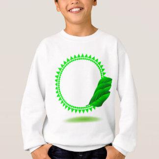100Green Icon_rasterized Sweatshirt