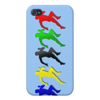 100m 200m 400m 800m Runners Running Run iPhone 4 Cases
