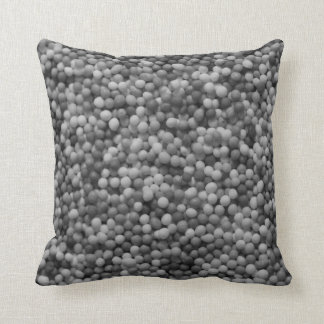 100s and 1000s black and white cushion
