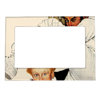 100th Anniversary of Baseball Photo Frame Magnet