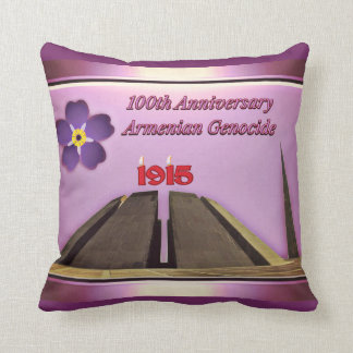 100th Anniversary of the Armenian Genocide Pillow