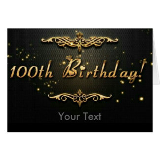 100th Birthday! Card