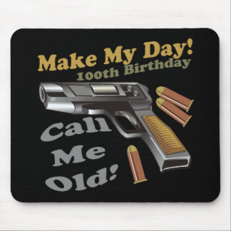 100th Birthday T-shirts and Gifts Mouse Pad