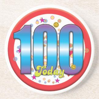 100th Birthday Today v2 Coaster