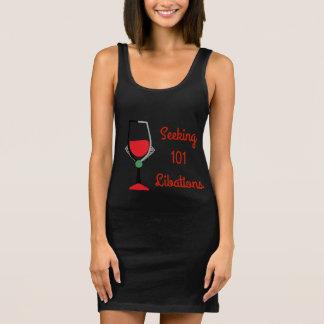 101 Libations - Bad Girls Drinking Club Sleeveless Dress