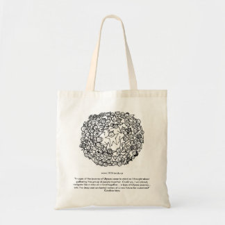 "101FriendsCoverDraftSmall2, www.101friends.ca""I... Tote Bag"