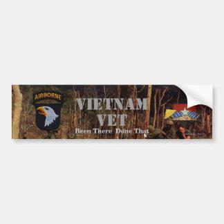 101st ABN airborne division screaming eagles Bumper Sticker