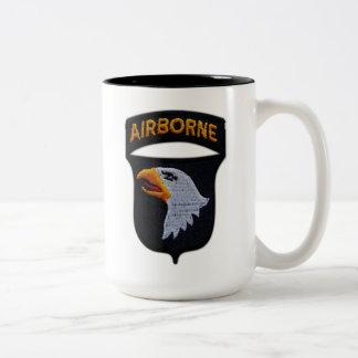 101st ABN airborne division veterans vietnam vets Two-Tone Coffee Mug