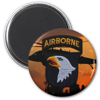 101st ABN DIV Airborne Division Screaming Eagles Magnet