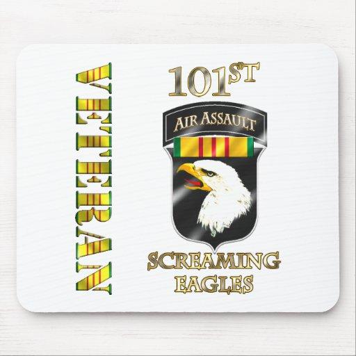 101st Air Assault Division Vietnam Veteran Mousepads