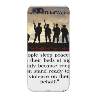 101st Airborne 320th F/A_BatteryB iPhone 5/5S Case