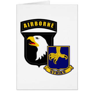 101st Airborne 502nd Infantry Card
