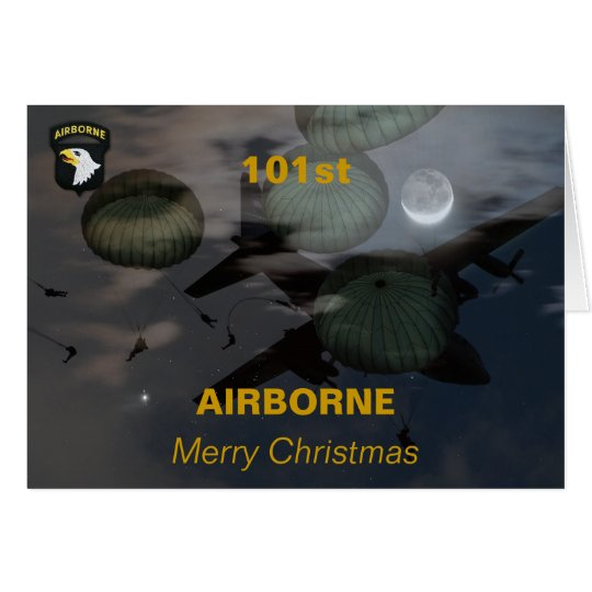 101st airborne division iraq vets veterans Card